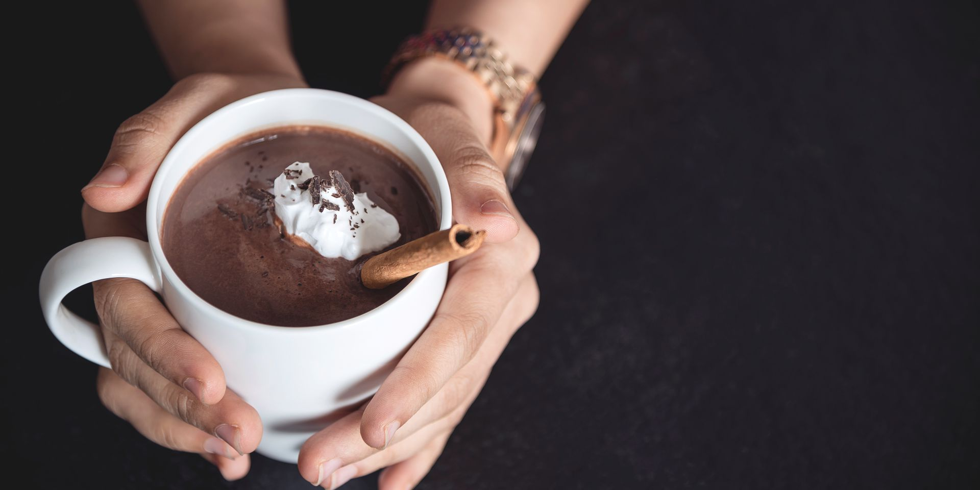 Classic Hot Chocolate - Now dark, european-style hot chocolate in the comforts of your home!